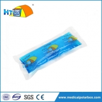 Reusable Blue Phase Change Material Ice Gel Packs