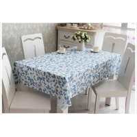 Hotel Table Cloth for 100% Cotton ,gold Christmas Table Cloth/linen Factory,linen Look Waterproof