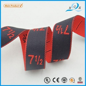 China Jacquard Ribbon Promotional 30mm Red Professional Goods Woven Waistband Elastic Band on sale