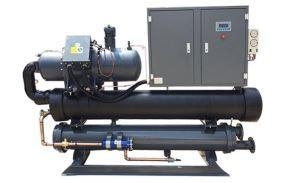 China Water Cooled Chiller 200kw Water-cooled AC Cooling Water Chiller Plant on sale