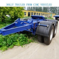 China Modular Trailer Full Trailer/draw Bar Trailer - CIMC Vehicles on sale