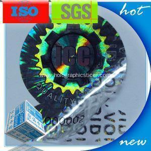 China Laser Tamper Evident Hologram Sticker on sale