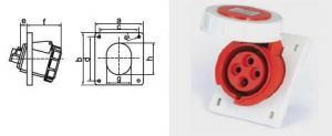 China Miniature Circuit Breaker Industrial Plug & Socket Coupling on sale