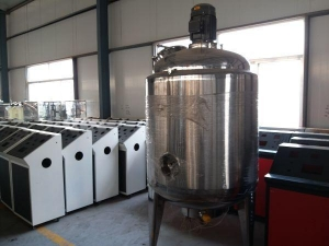 China Liquid Soap Making Machine on sale