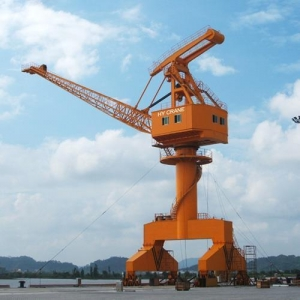 China High efficiency 25 ton mobile harbour crane on sale