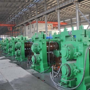 China Hot Rolling Mill For Rebar Wire Rod Section Bar on sale