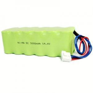 China SC3000mah 14.4v NIMH Battery Pack on sale