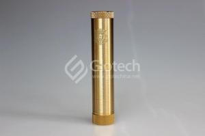China Glotech E-cigarette Dusted king mod dusted brass knurled brass king mod king mod V2 1:1 clone on sale