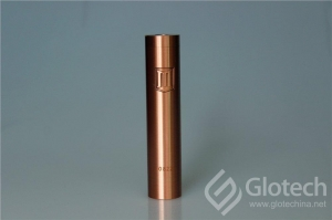 China Glotech E-cigarette Newest Mechanical Mod Red Copper Penny Mod on sale