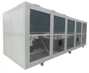 China 200ton industrial air cooled screw chillers-air cooling system on sale