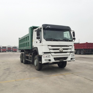 China HOWO 336 HP 20 Ton 10 Wheeler Tri Axle Construction Heavy Duty Dump Trucks Dump Truck on sale