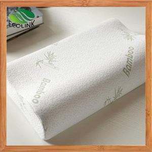 China Hotel Quality Shredded Memory Foam Bamboo Pillow with Removable Bamboo Fiber Cover on sale