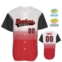 2017 Latest Blank Baseball Jerseys Custom Sublimation Baseball Tee Shirts