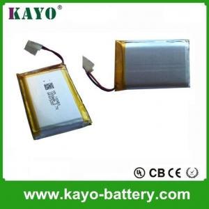 China 3.7V/1,800mAh Lithium Polymer Battery For Label Printer on sale