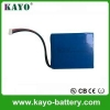 China Lithium Ion Battery 18650 Li-ion Battery 9v Battery Pack for sale