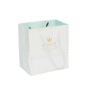 China Small Gift Bag With Handles Wedding Decoration Paper Bag For Birthday Event Party on sale