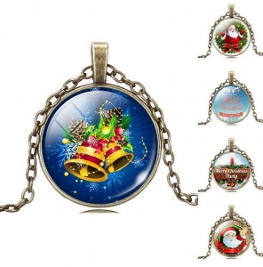 China glass dome pendant necklace Glass Dome Necklace on sale