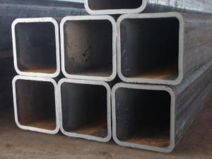 China Q235 Straight Seam Steel Pipe.galvanized Square Tube Size on sale