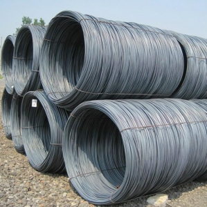 China Hot Rolled GB Q195 Q235A Q235B Low Carbon Steel Wire Rods Steel Bar in Coil on sale