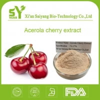 China VC 17 Organic Acerola Cherry Extrcat / Organic Barbados Cherry Extract Powder Suppliers on sale