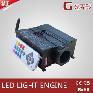 China 45W RGB Optic Fibre Light Engine Fiber Optic Star Roof Star Ceiling Illuminators on sale