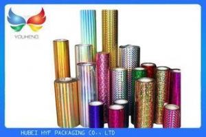 China Transparent Holographic Lamination Film Multiple Extrusion , Width 300-1300mm on sale