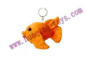 China key chain HQ117--plush fish keychain on sale