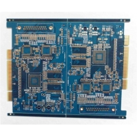 Multilayers PCB Hi-tech TG170 Gold Plating Gold Finger 4 Layers Circuit Board