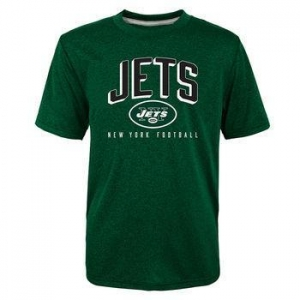 China NEW YORK JETS Boys' Arch Performance Short-Sleeve Tee on sale