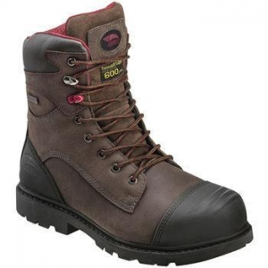 China AVENGER Men's 7573 8 in. Nano Tech Composite Toe Waterproof Work Boots, Wide on sale