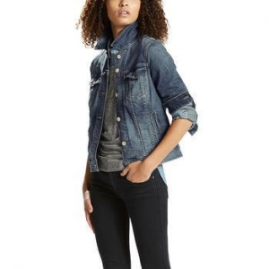 China LEVI'S Women's Denim Trucker Jacket on sale