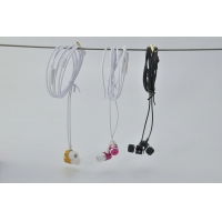 China Earphone TPE Cord Headphone Earphone with Microphone on sale