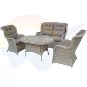 China GSD-RS1038S outdoor PE wicker garden furniture set on sale