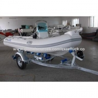 High quality RIB boat with fiberglass hull