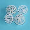 China PP PE PVC 25mm 38mm 50mm Plastic Tri Packs for Water Treatment for sale