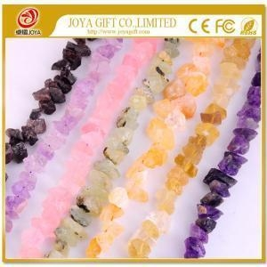 China Loose Natural Rough Semi Precious stone Jewelry Beads on sale