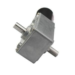China Micro Worm DC Gear Motor Brushed 12v DC Geared Motor on sale
