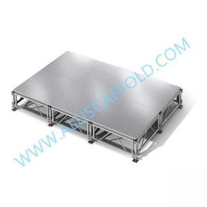 China Aluminum Portable Mobile Plywood Platform Wedding Stage on sale