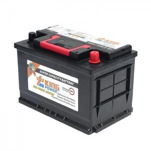 China Korean Hot Model 12V 75AH Din 75AH Maintenance Free Hybrid Car Battery on sale