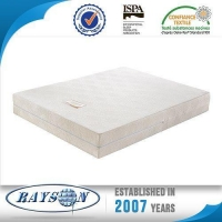 Bedroom Light Natural Latex and Gel Memory Foam Topper with Rolled Packing for Home and Apartment