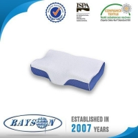 China High Density Slow Rebound Orthopedic Memory Foam Pillow with Knitted Fabric Cover on sale