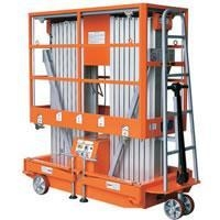 China Mobile Aluminium Work Platform Dual Mast on sale