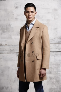 China Men's Coat Cashmere Men's Coat on sale