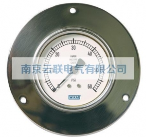 China 212.40PM, 213.40PM Bourdon Tube Pressure Gauges Paper Machine Gauge on sale