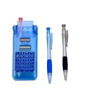 China 8 Digit Solar Power Calculator with Three Pens on sale