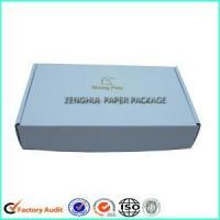 China White Corrugated Cardboard Mailer Carton Box on sale