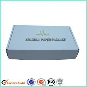 China White Corrugated Cardboard Mailer Carton Box on sale