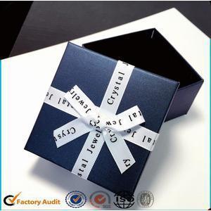 China Elegant Luxury Earrings Packaging Paper Box on sale