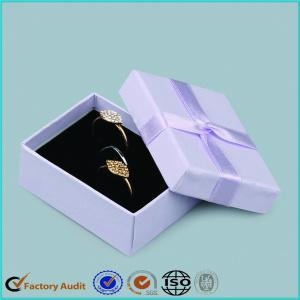 China Unique Design Small Jewelery Engagement Ring Box on sale