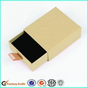 China Paper Jewelry Drawer Gift Box With Foam on sale